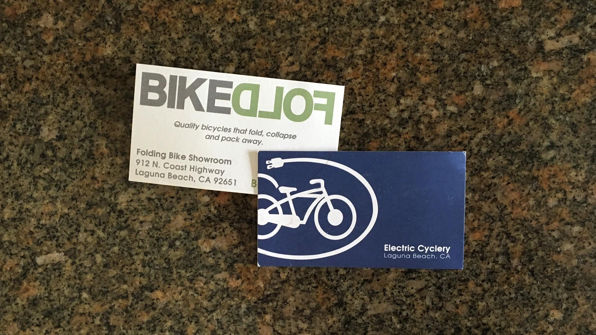 Electric Cyclery - Bike Fold